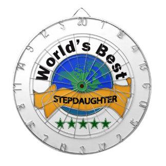 World's Best Stepdaughter Dartboards