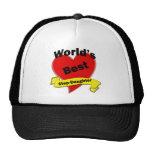 World's Best Stepdaughter Mesh Hat