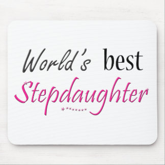 World's Best Stepdaughter Mouse Pad