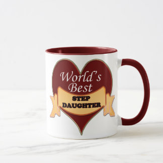 World's Best Stepdaughter Mug