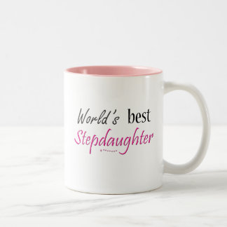 World's Best Stepdaughter Two-Tone Coffee Mug