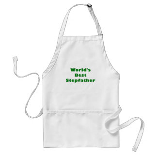 Worlds Best Stepfather Adult Apron