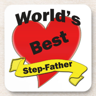 World's Best Stepfather Drink Coaster