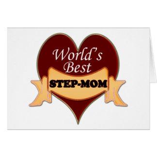 World's Best Stepmom Card