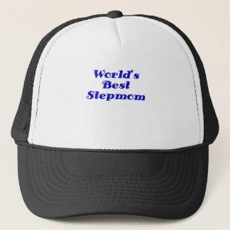 Worlds Best Stepmom Trucker Hat
