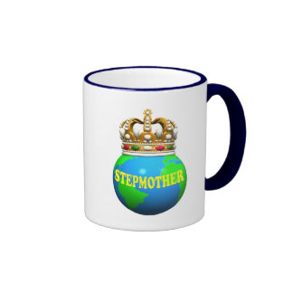 World's Best Stepmother Mothers Day Gifts Ringer Mug