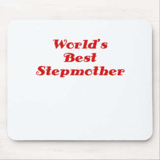 Worlds Best Stepmother Mouse Pad