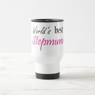 World's Best Stepmum Travel Mug