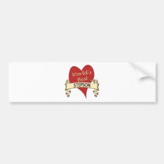 World's Best Stepson Bumper Sticker
