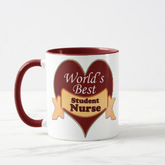 World's Best Student Nurse Mug