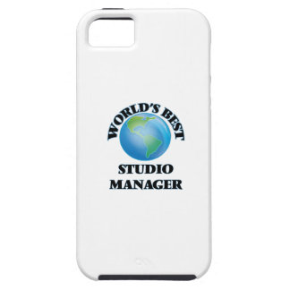 World's Best Studio Manager iPhone 5 Cases