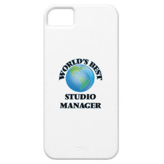 World's Best Studio Manager iPhone 5 Case