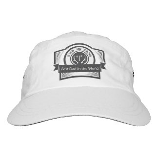 World's Best SUPER Dad & Grandpa Headsweats Hat