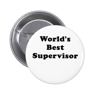 Worlds Best Supervisor Button