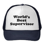 World's Best Supervisor Trucker Hat