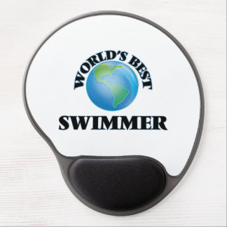 World's Best Swimmer Gel Mouse Pads