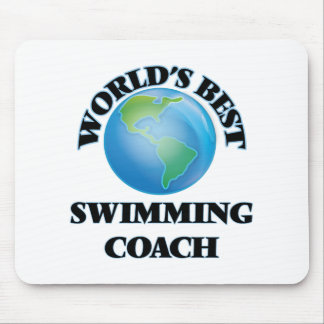 World's Best Swimming Coach Mouse Pads