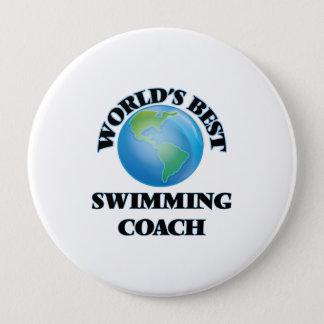 World's Best Swimming Coach Pinback Button