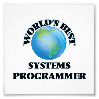 World's Best Systems Programmer Art Photo