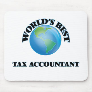 World's Best Tax Accountant Mouse Pads