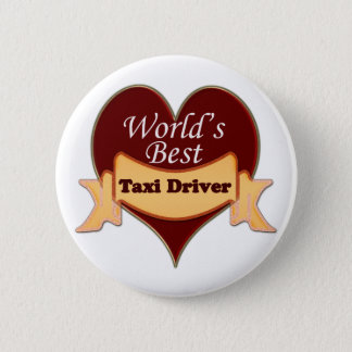World's Best Taxi Driver Button