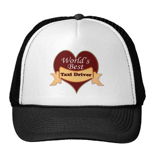World's Best Taxi Driver Mesh Hats