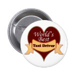 World's Best Taxi Driver Pin