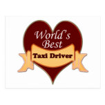 World's Best Taxi Driver Post Cards