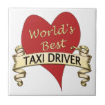 World's Best Taxi Driver Tile