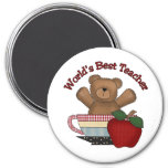 World's Best Teacher 1 Fridge Magnets