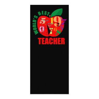World's Best Teacher Apple Card