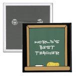 World's Best Teacher Button
