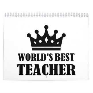 World's best Teacher Calendar
