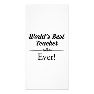 World's Best Teacher Ever Card