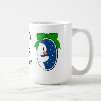 World's Best Teacher - Holiday Snowman Coffee Mug