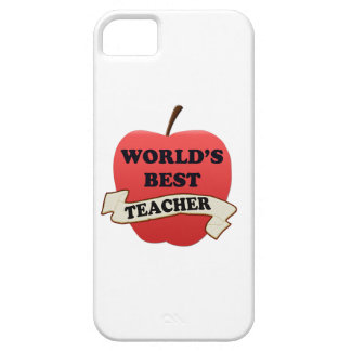 World's Best Teacher iPhone SE/5/5s Case