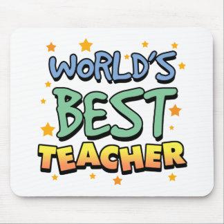 World's Best Teacher Mousepad