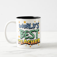 World's Best Teacher Mug mug