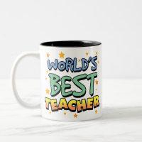 World's Best Teacher Mug mug