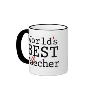 WORLD'S BEST TEACHER - mug
