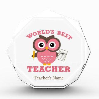 World's Best Teacher - Pink Award