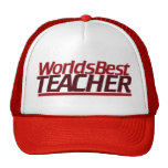Worlds Best Teacher Trucker Hat