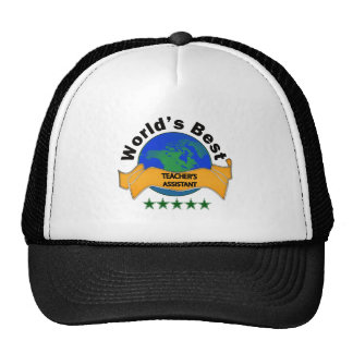 World's Best Teacher's Assistant Trucker Hat