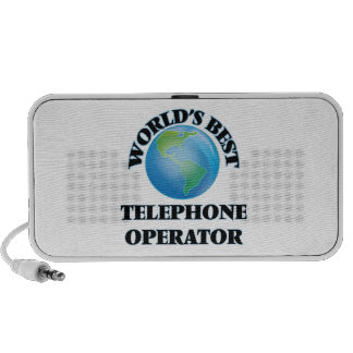 World's Best Telephone Operator iPod Speakers