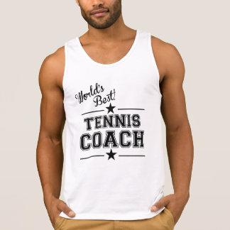 World's Best Tennis Coach Tanktop