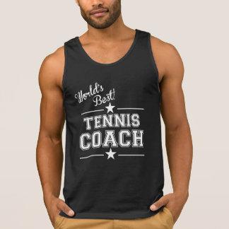 World's Best Tennis Coach Tank