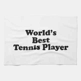 World's Best Tennis Player Towel