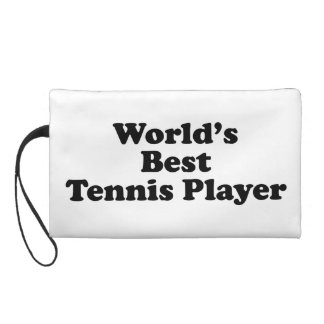 World's Best Tennis Player Wristlet Purse
