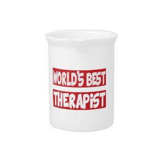 World's Best Therapist. Drink Pitchers