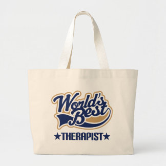 Worlds Best Therapist Tote Bag